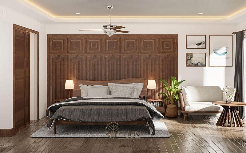 Thiết kế thi công nội thất biệt thự phòng ngủ - Mẫu 5