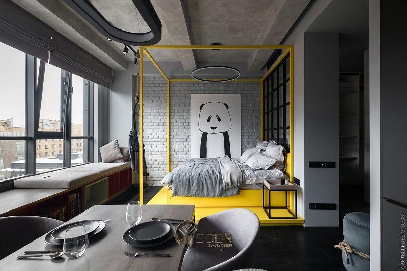 Mẫu thiết kế, thi công nội thất chung cư cao cấp – Mẫu 1