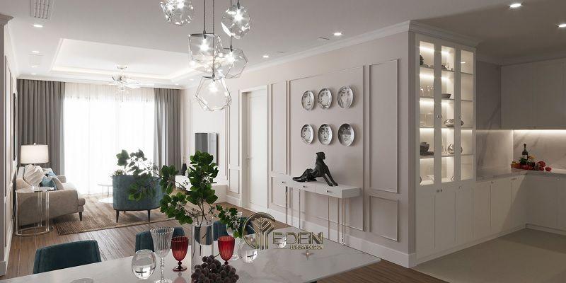 Mẫu thiết kế, thi công nội thất chung cư cao cấp – Mẫu 7