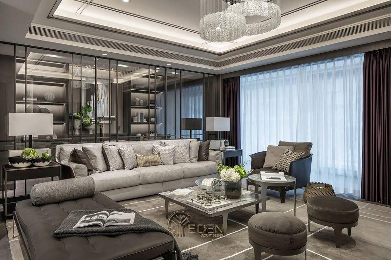 Mẫu thiết kế, thi công nội thất chung cư cao cấp – Mẫu 8