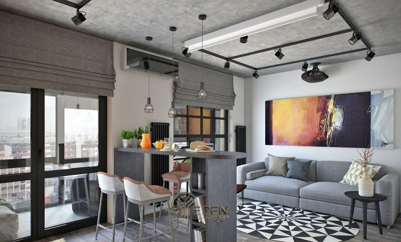 Mẫu thiết kế, thi công nội thất chung cư cao cấp – Mẫu 2