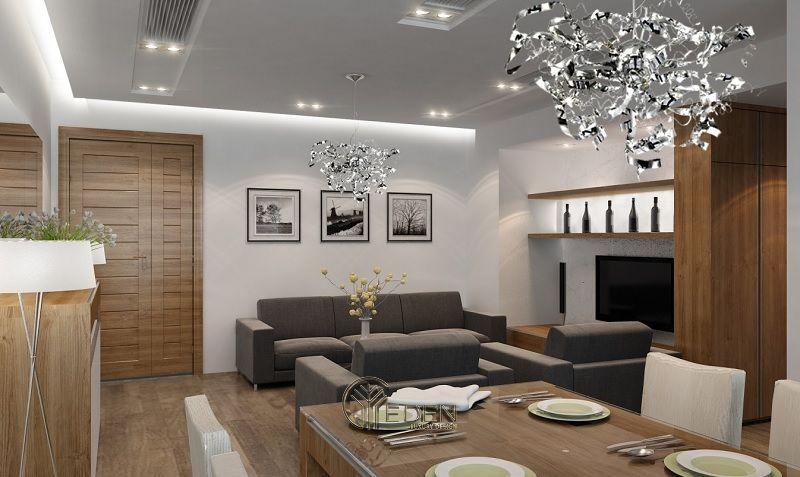 Quy trình thiết kế, công nội thất chung cư cao cấp