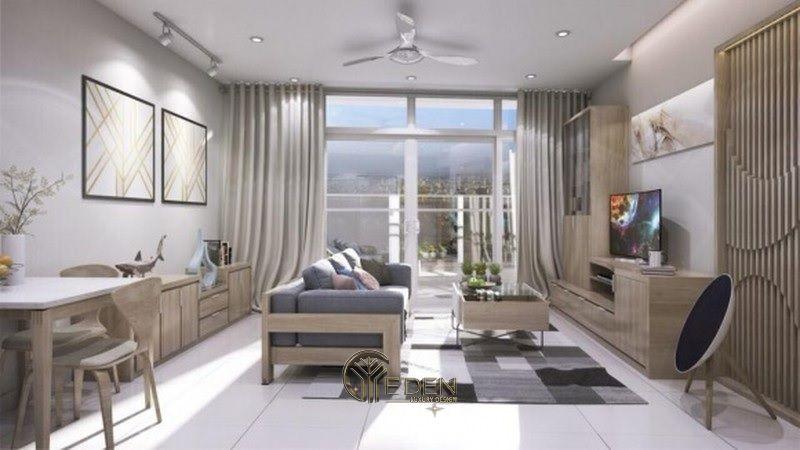 Mẫu thiết kế, thi công nội thất chung cư cao cấp – Mẫu 5
