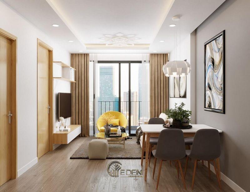 Những mẫu thiết kế, thi công nội thất chung cư giá rẻ - Mẫu 8
