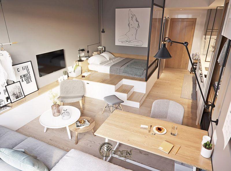 Những mẫu thiết kế, thi công nội thất chung cư giá rẻ - Mẫu 10
