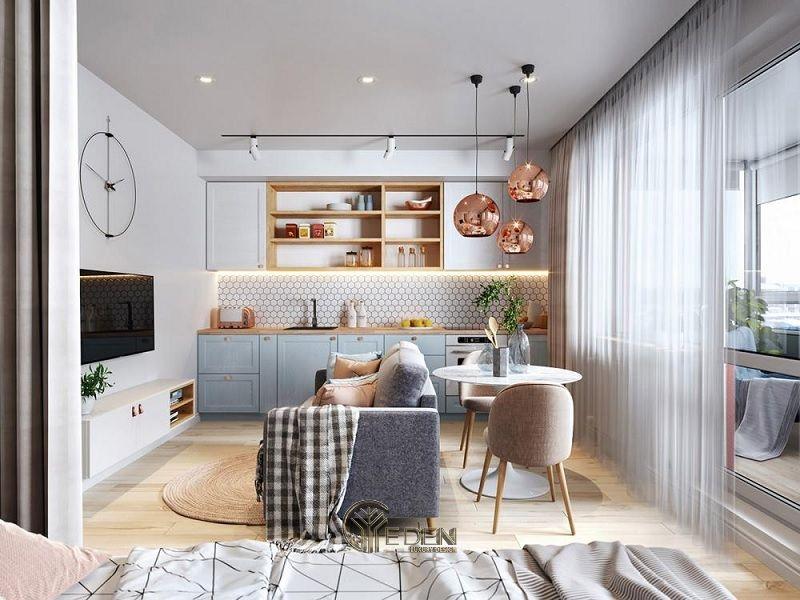 Những mẫu thiết kế, thi công nội thất chung cư giá rẻ - Mẫu 1