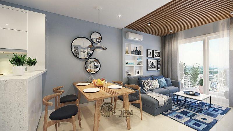 Những mẫu thiết kế, thi công nội thất chung cư giá rẻ - Mẫu 2