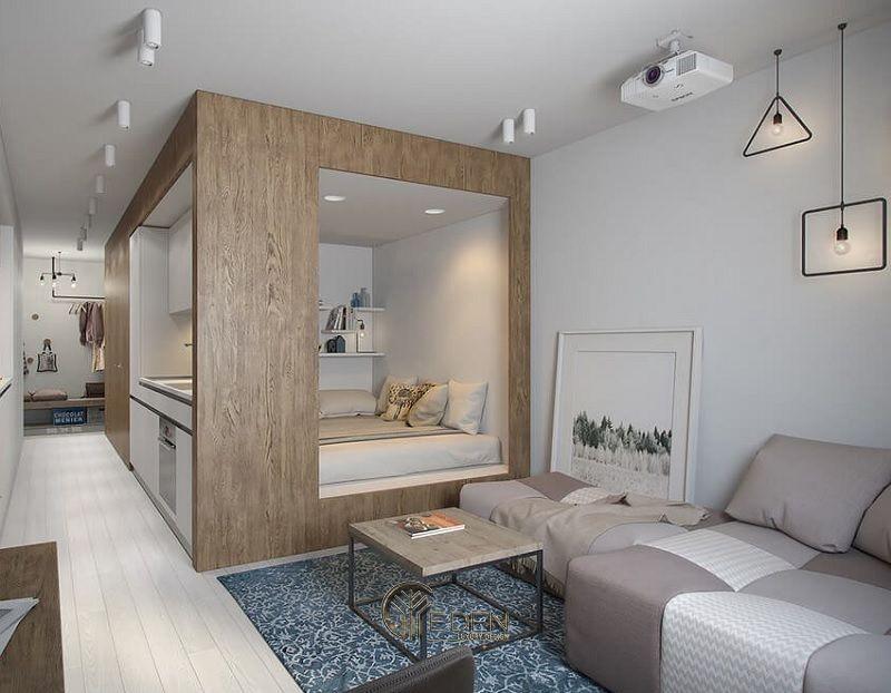Những mẫu thiết kế, thi công nội thất chung cư giá rẻ - Mẫu 5