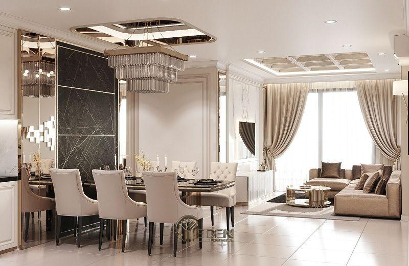Công ty thiết kế nội thất DEZICOR - Mẫu thi công nội thất nhà ở Cổ điển