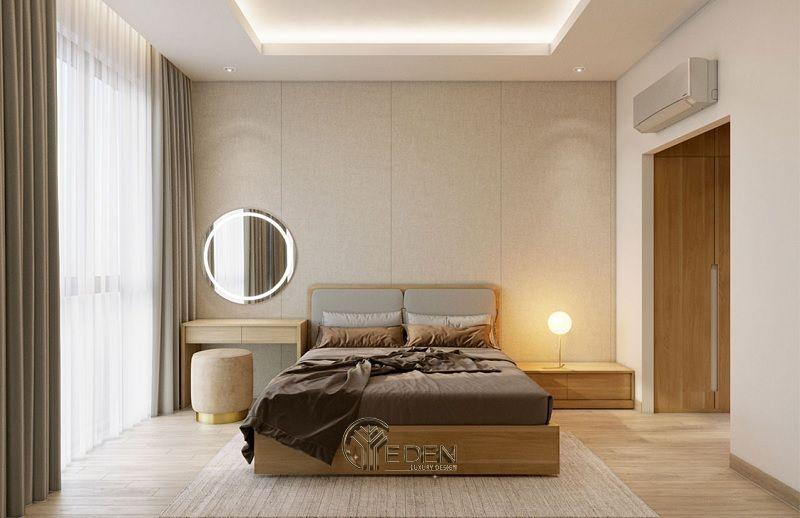 Công ty nội thất Wonder - Không gian phòng ngủ được thi công nội thất đơn giản, tiết giản đồ vật, tạo ra không gian tuy giản đơn nhưng lại thoáng đáng.