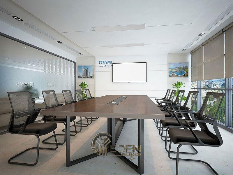 Thiết kế, thi công nội thất văn phòng Hà Nội – Phòng họp mẫu 3