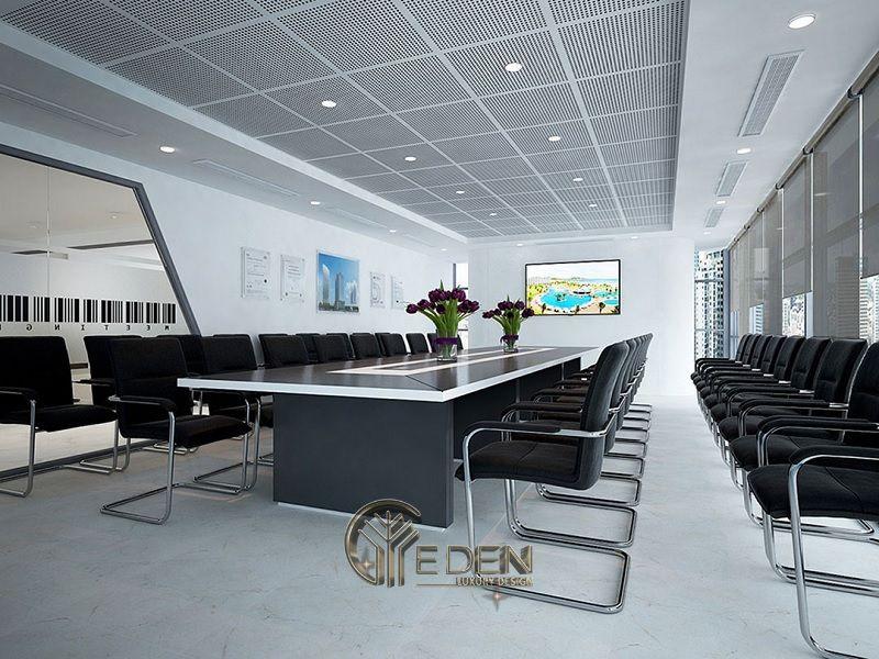 Thiết kế, thi công nội thất văn phòng Hà Nội – Phòng họp mẫu 4