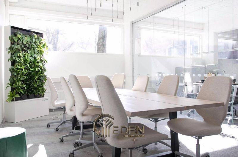 Thiết kế, thi công nội thất văn phòng Hà Nội – Phòng họp mẫu 5