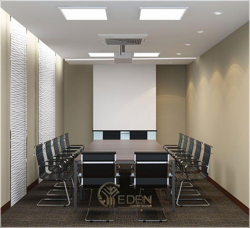 Thiết kế, thi công nội thất văn phòng Hà Nội – Phòng họp mẫu 2