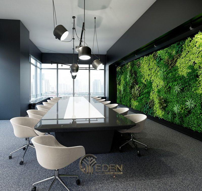 Thiết kế, thi công nội thất văn phòng Hà Nội – Phòng họp mẫu 6