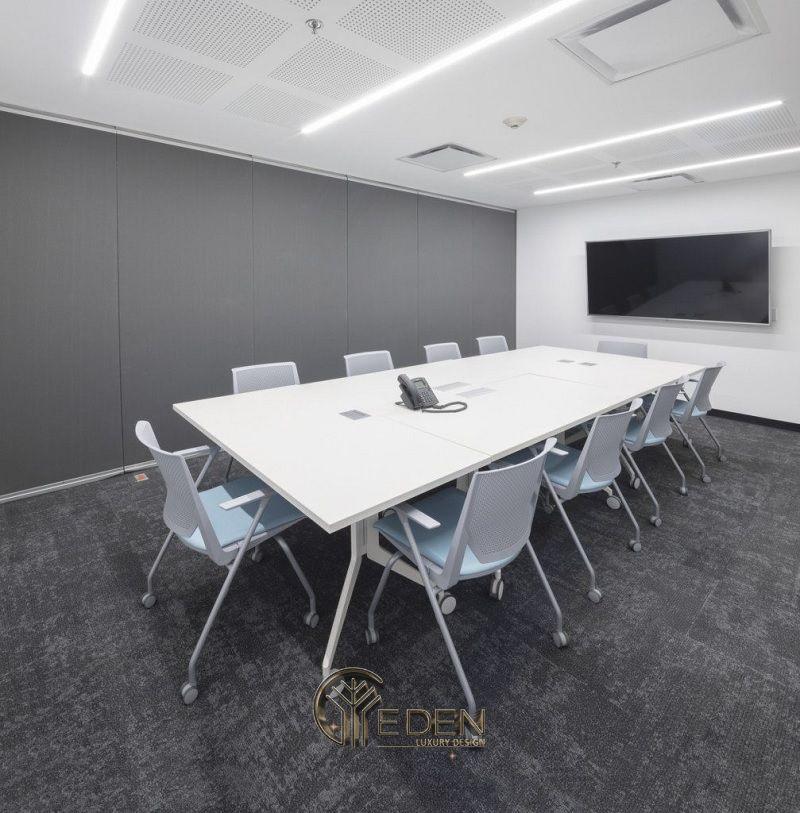 Thiết kế, thi công nội thất văn phòng Hà Nội – Phòng họp mẫu 7