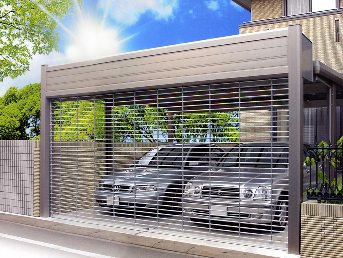 Có thể dùng cửa có khe thông gió để giảm mùi cho gara