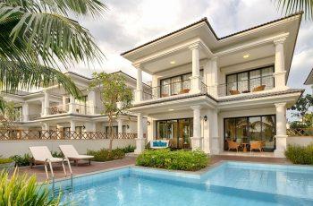 Mẫu thiết kế biệt thự nghỉ dưỡng theo phong cách đương đại