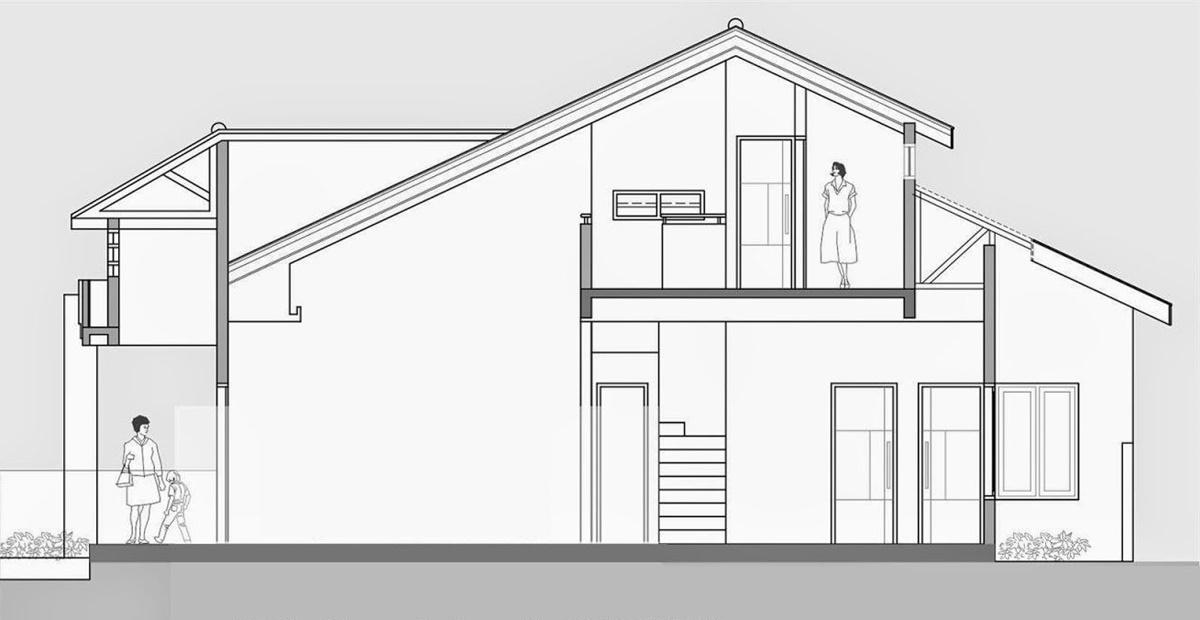 Thiết kế nhà cấp 4 có gác lửng sẽ giúp gia đình bạn có không gian sống rộng rãi