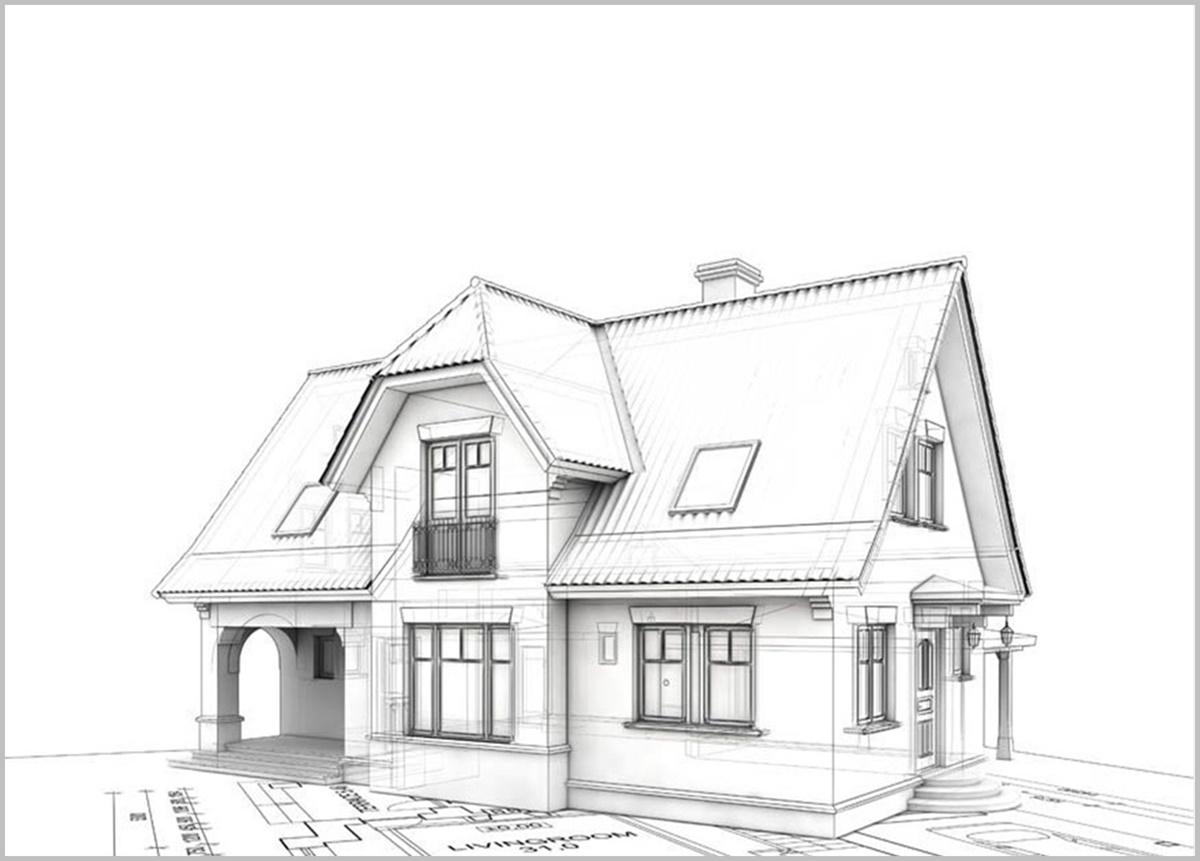 Bản vẽ nhà được phát triển dựa trên yêu cầu của khách hàng