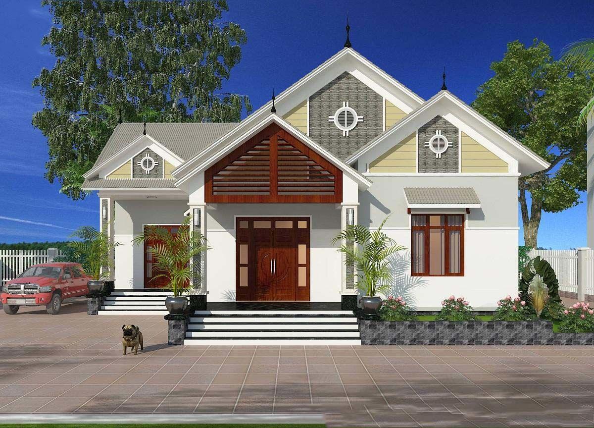Nhà cấp 4 là loại nhà đặc biệt phù hợp với những gia đình sống ở vùng nông thôn