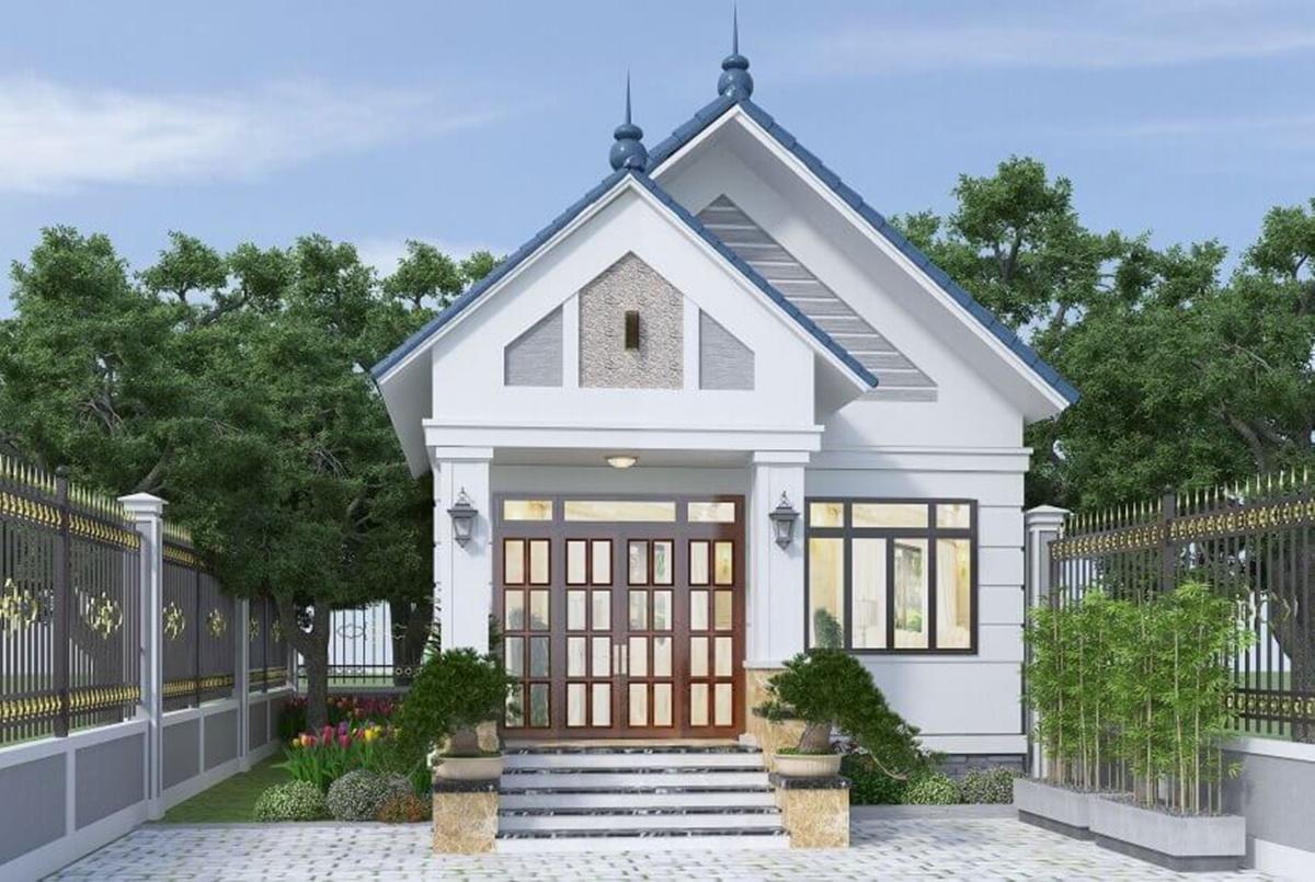 Chủ đầu tư còn có thể chọn phương án đặt nhà vệ sinh bên trong nhà