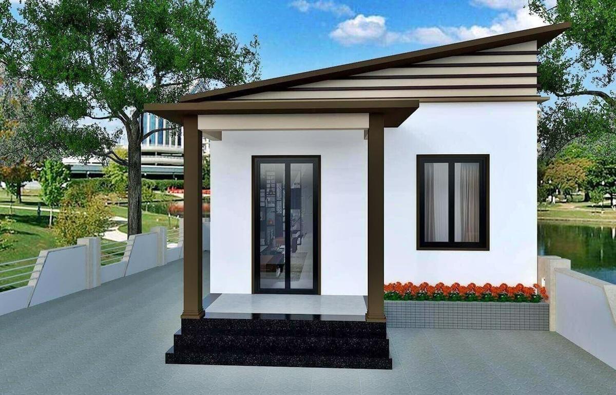 Ở những thiết kế nhà cấp 4 diện tích nhỏ, mỗi khoảng không gian đều vô cùng quý giá