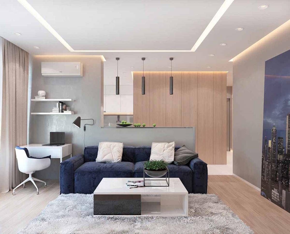 Trần nhà cao là giải pháp hữu ích cho nhà cấp 4 diện tích nhỏ