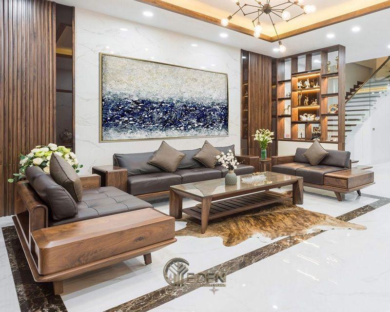 Thiết kế nội thất nhà cấp 4 hiện đại theo phong cách tân cổ điển