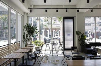 """Chọn lọc 3 Phong cách thiết kế quán cafe mặt tiền 5m """"hot"""" nhất hiện nay"""