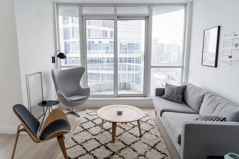 Trang trí nội thất phòng khách với phong cách tối giản (5)