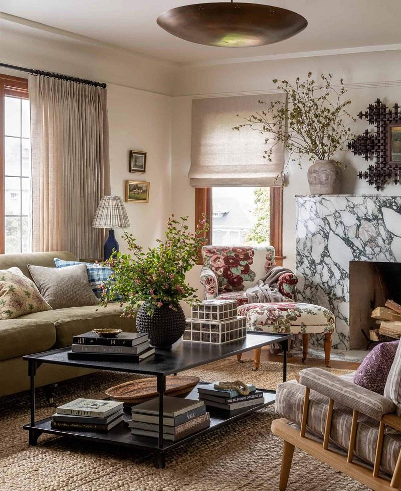 Trang trí nội thất phòng khách với phong cách Vintage (3)