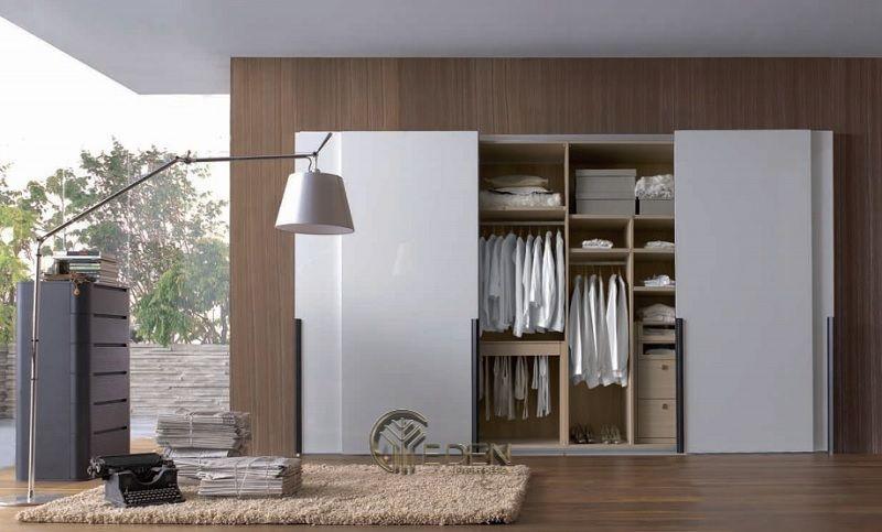 Mẫu thiết kế phòng ngủ lớn mang phong cách tối giản hiện đại