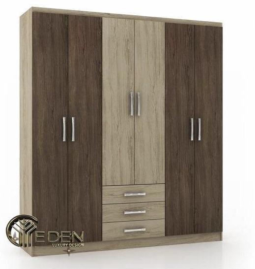 Tủ quần áo gỗ ép vân gỗ đẹp