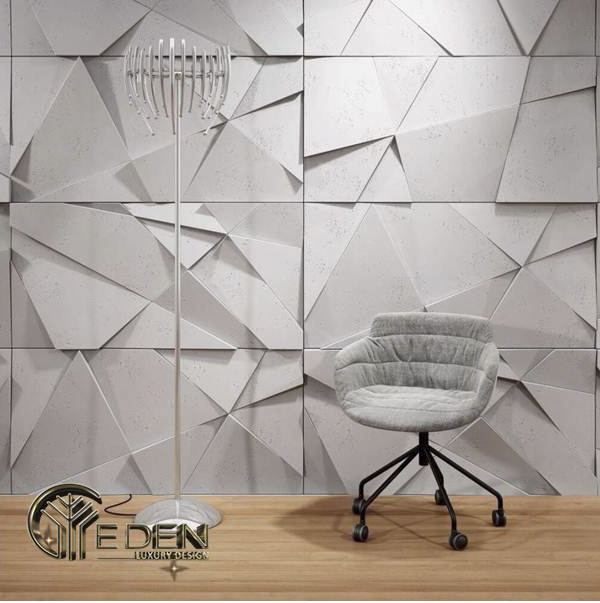 Vách ốp tường trang trí bằng 3D