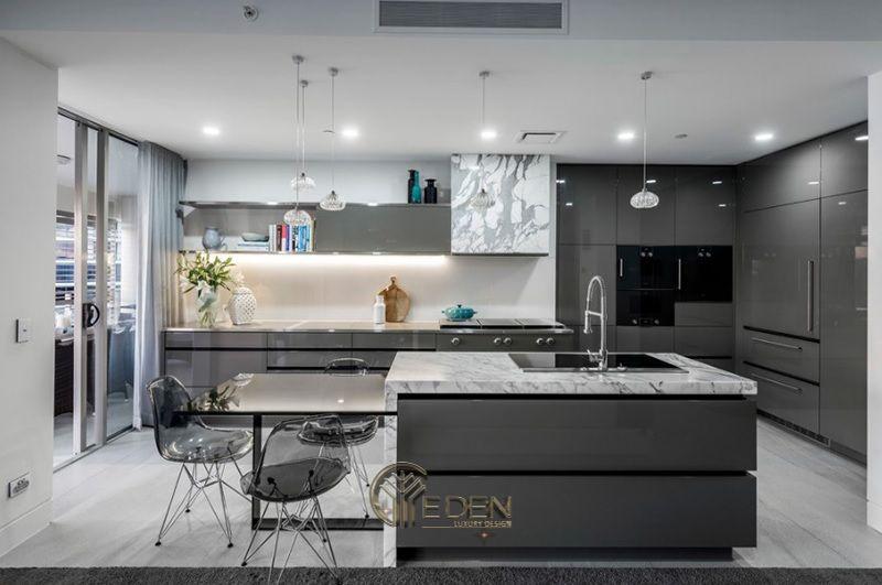 Mẫu bàn ăn thông minh, đẹp cho phòng bếp hiện đại