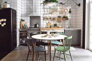 Thiết kế phòng bếp với bàn ăn đẹp, phù hợp với nhiều phong cách!