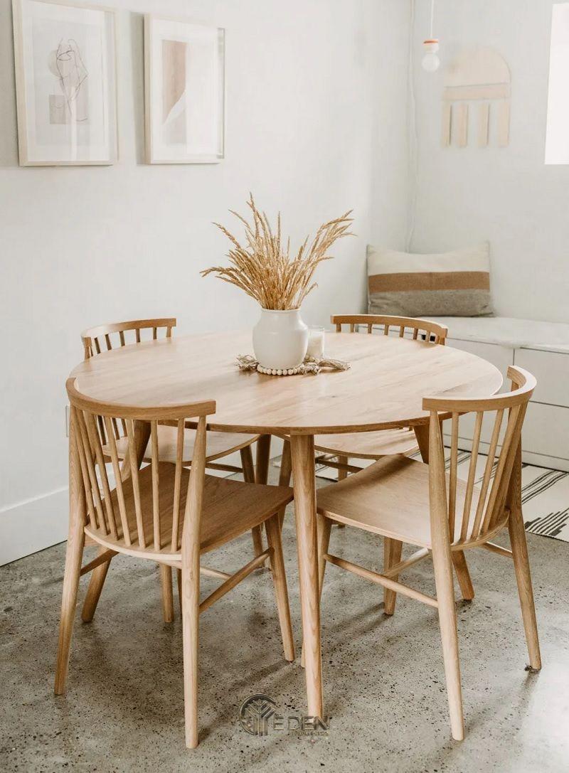 Các mẫu bàn ăn đẹp với đa dạng các phong cách phòng bếp