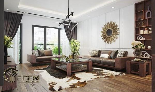 Nội thất tân cổ điển sơn PU làm tăng giá trị của nội thất