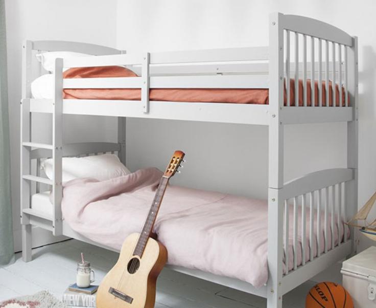 Giường 2 tầng 1m6 kiểu dáng đơn giản