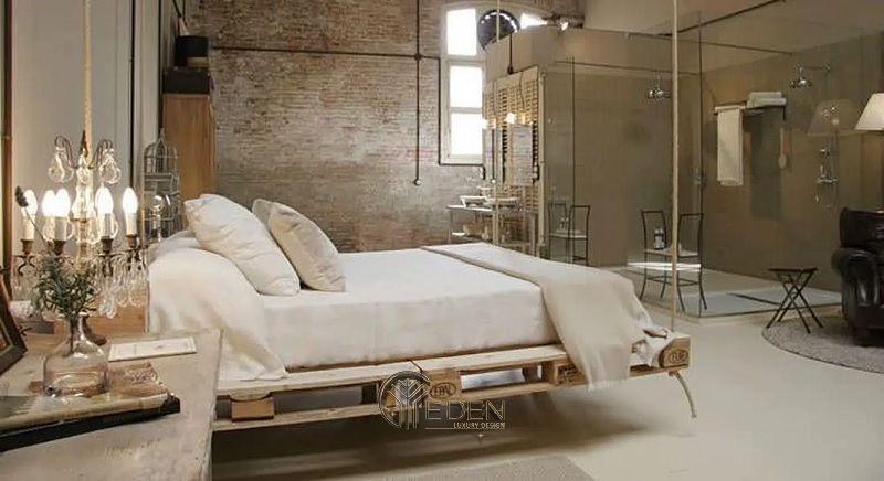 Mẫu giường gỗ trang trí phòng ngủ phong cách Châu Âu (1)