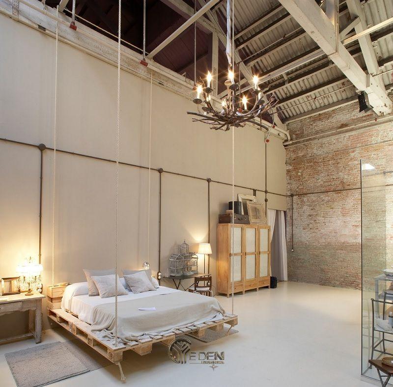 Mẫu giường gỗ trang trí phòng ngủ phong cách Châu Âu (2)