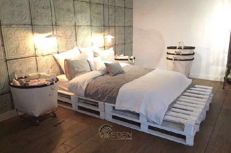 Mẫu giường gỗ trang trí phòng ngủ phong cách Châu Âu (3)
