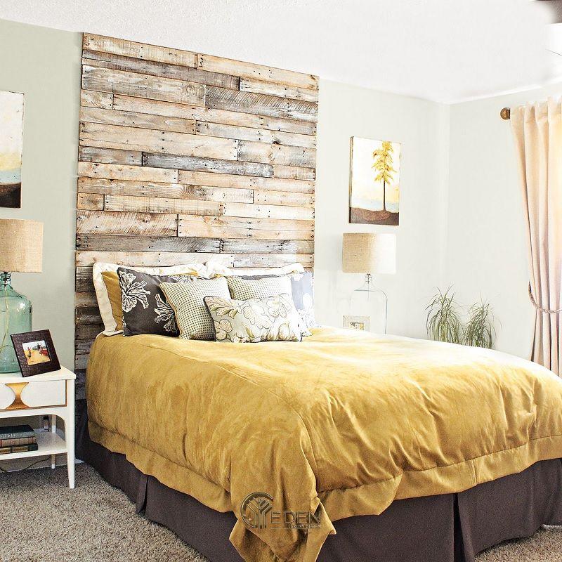 Mẫu giường gỗ trang trí phòng ngủ phong cách Châu Âu (5)