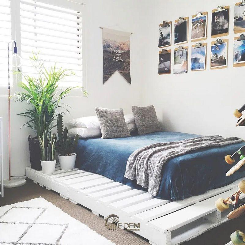 Mẫu giường gỗ trang trí phòng ngủ phong cách Châu Âu (4)