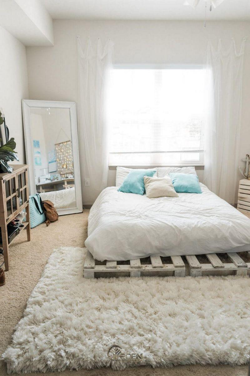 Mẫu giường gỗ trang trí phòng ngủ phong cách Scandinavian (3)