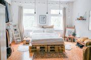 TỔNG HỢP Mẫu giường Pallet – Ý tưởng trang trí phòng ngủ độc đáo