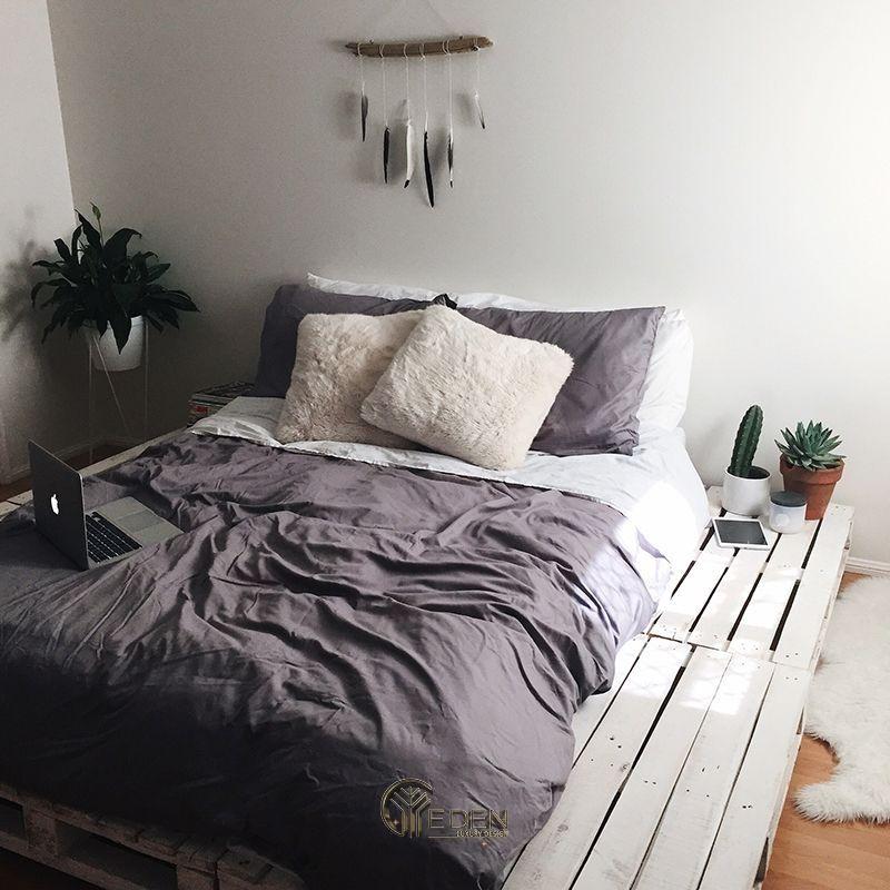 MẸO HAY chọn mẫu giường Pallet trang trí phòng ngủ