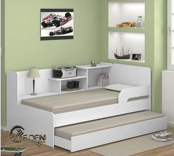 Mẫu giường hộp 2 tầng cho người lớn hiện đại