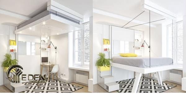 Giường tầng thông minh độc lạ cho người lớn sở hữu nhà diện tích nhỏ hẹp